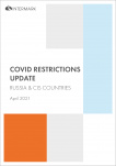 DEMO. COVID RESTRICTIONS UPDATE